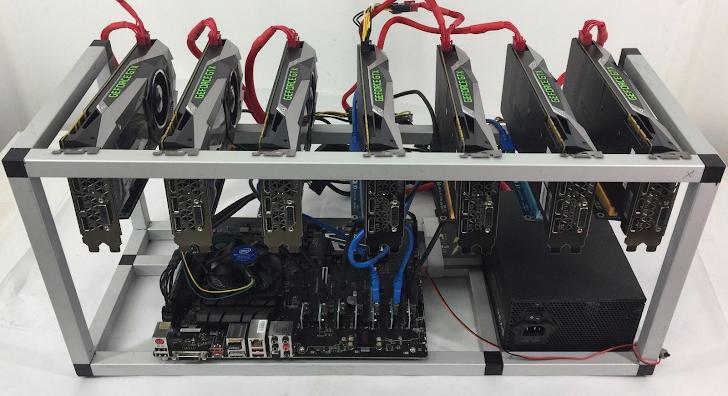 Merakit Mining Rig Untuk Menambang Bitcoin