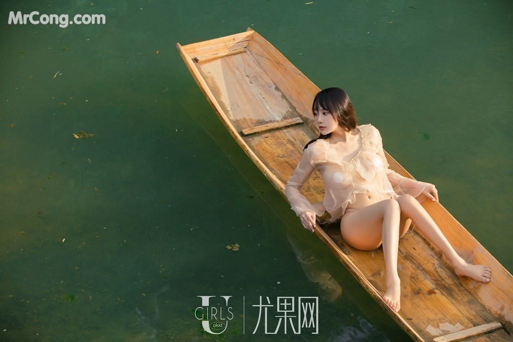 Image UGIRLS-U318-He-Jia-Ying-MrCong.com-047 in post UGIRLS U318: Người mẫu He Jia Ying (何嘉颖) (66 ảnh)