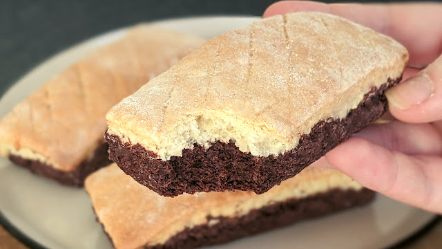 biscuits, chocolat, vanille, grandmere, sans beurre, sans lait, recette, facile, rapide