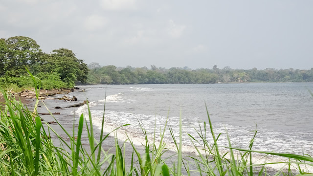 One of the best beaches in Equatorial Guinea