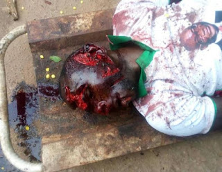 OMG: Man Killed By Thugs In Ekiti State While Wearing PDP Campaign Shirt (Photos)