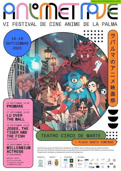Vuelve Animetraje en su VI edición, en el Teatro Circo de Marte