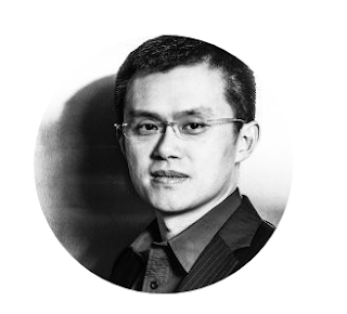 Image of Changpeng Zhao is the founder and CEO of Binance