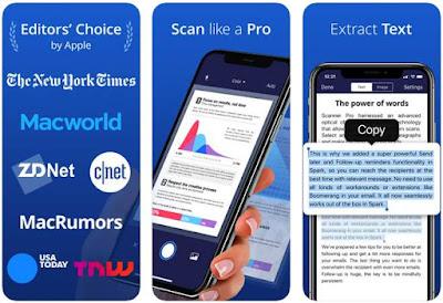 Aplikasi Scanner iPhone - Scanner Pro