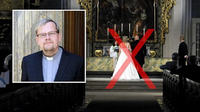 Egy homoszexuális svéd pap nem akar összeadni heteró párokat