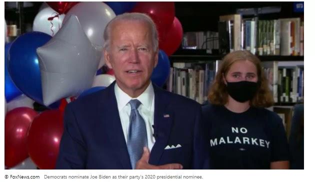 In a virtual roll call, Democrats officially nominate Joe Biden as president