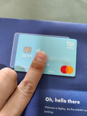 Pengalaman Guna Kad Debit BigPay Sangat Mudah
