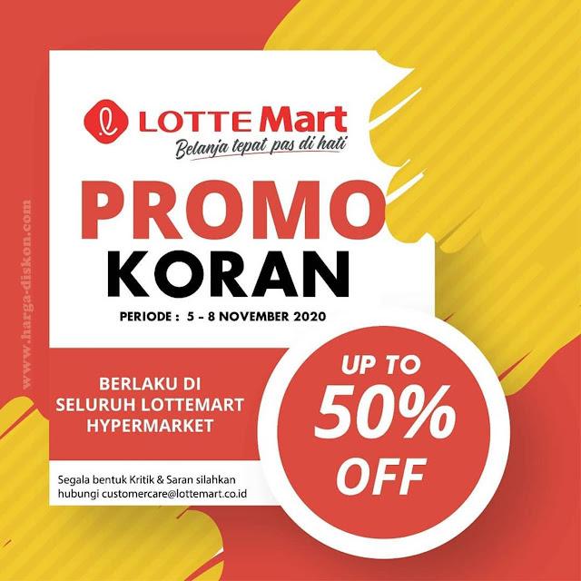 Promo JSM LOTTEMART 5 - 8 November 2020