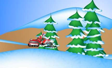 لعبة سباق موتسكلات الجليد Glacier Rally اون لاين