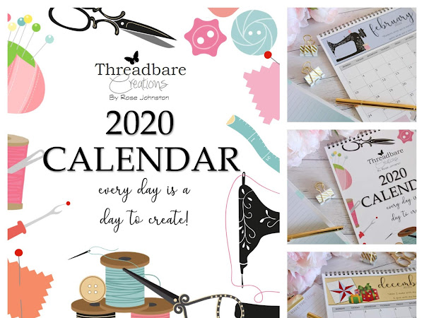 Free 2020 Calendar - Every Day Is  A Day To Create!