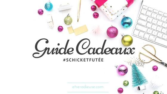 #SchicketFutée - ALLEZ-Y TOUT EN DOUCEUR  EN OFFRANT UN CADEAU DES  FÊTES DE SCHICK®