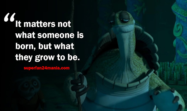 """""""It matters not what someone is born, but what they grow to be."""""""