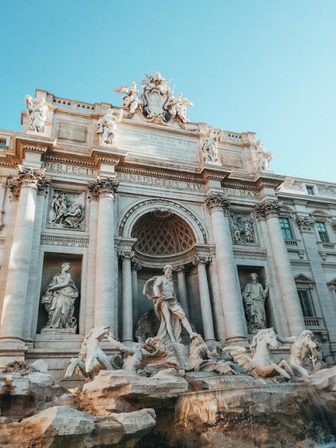 Rzym; Rome; Italy; Włochy; Fontanna di trevi; di trevi