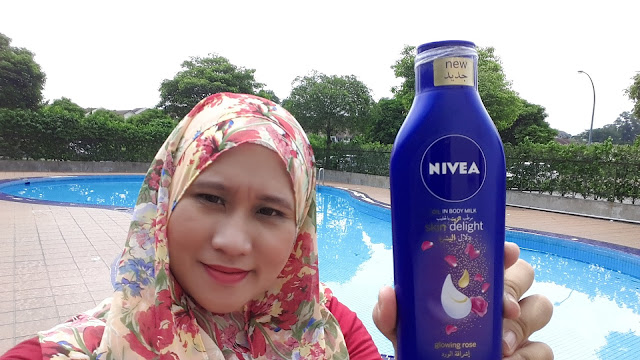 Cantikkan Kulit Dengan Nivea Oil In Body Milk Skin Delight Glowing Rose dan Relaxing Lavender