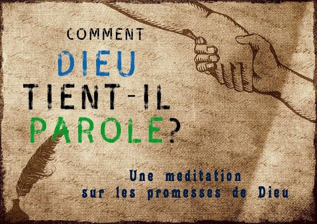 Méditation sur les promesses de Dieu #audio