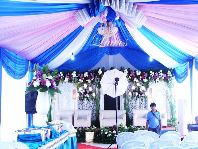 Tenda pernikahan modern minimalist VIP