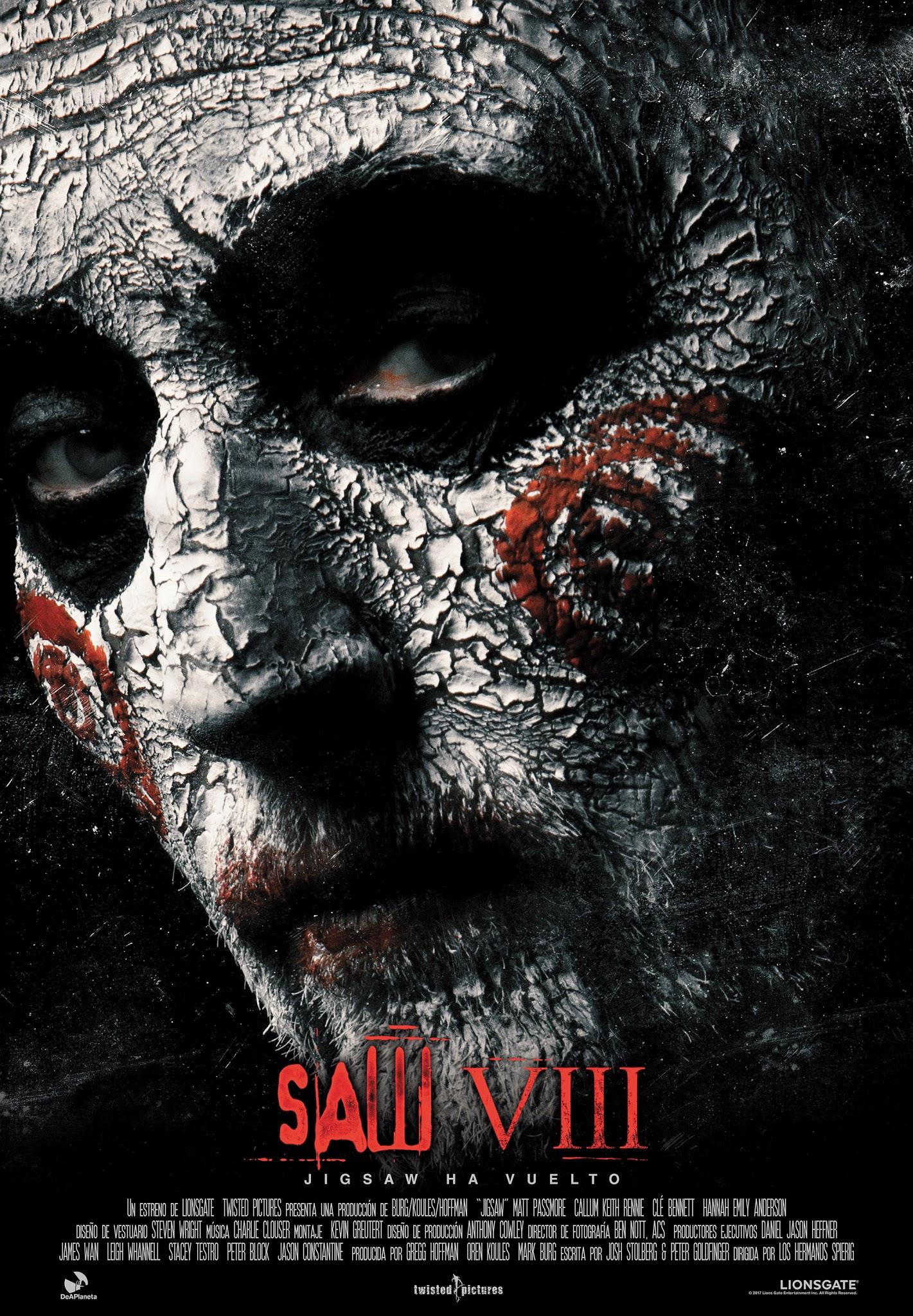 Saw VIII (Jigsaw) (2017)