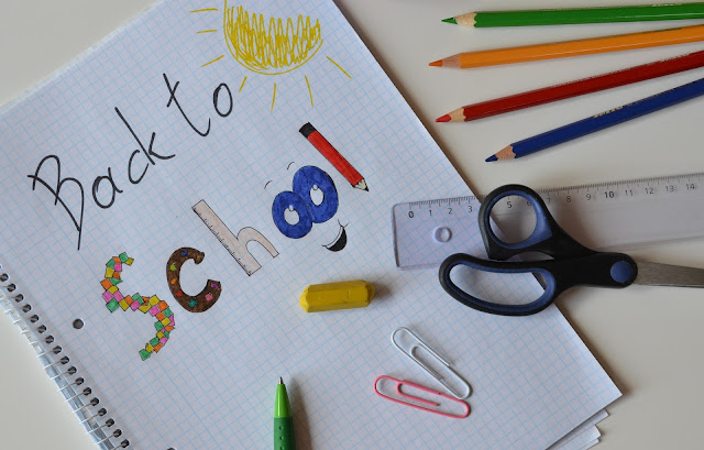 Material escolar vuelta al cole