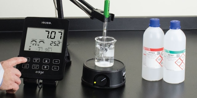 using buffer solution to calibrate ph meter