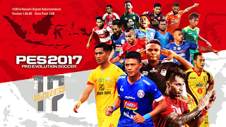 PES 2017 Shopee Liga 1 Add on Terbaru
