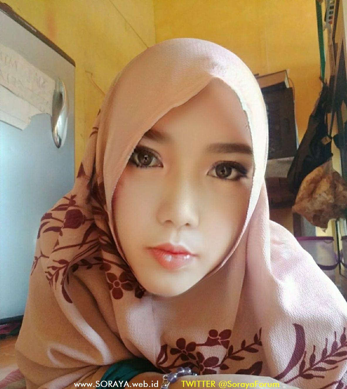foto soraya selfie wantia cantik berkerudung hijaber