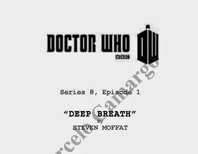 The first five scripts from DOCTOR WHO Series 8 leak