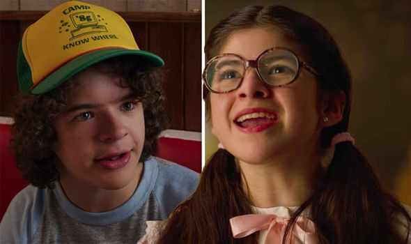 Dustin's Girlfriend stranger things