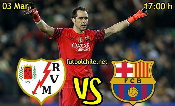 VER STREAM EN VIVO, ONLINE: Rayo Vallecano vs Barcelona