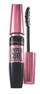 Maybelline new York hyper curl waterproof mascara.