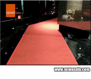 Rental karpet murah berkualitas dan berkelas siap pakai dievent seluruh jabodetabek