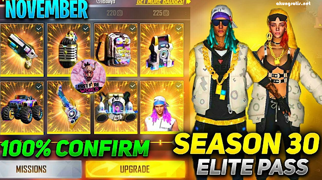 elite pass ff season 30