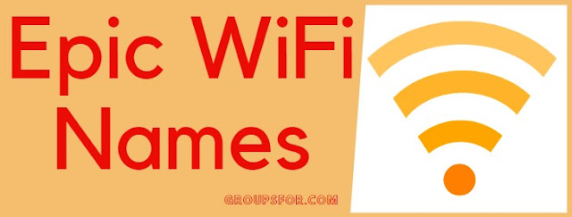 epic names of wifi