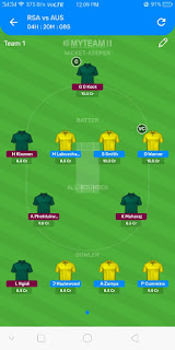 SA vs AUS 2nd ODI Dream11 Prediction