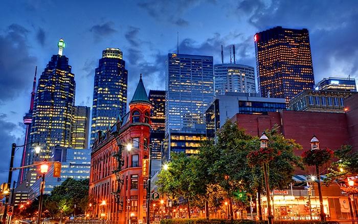 Путешествие в Канаду и город Торонто