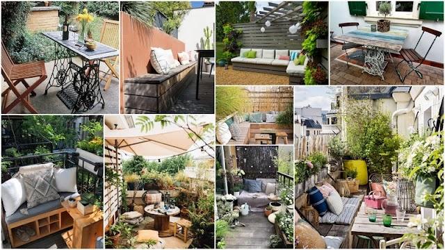 DIY Έπιπλα για Μπαλκόνι - Κήπο