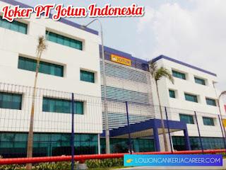 Lowongan kerja PT Jotun Indonesia Terbaru 2020