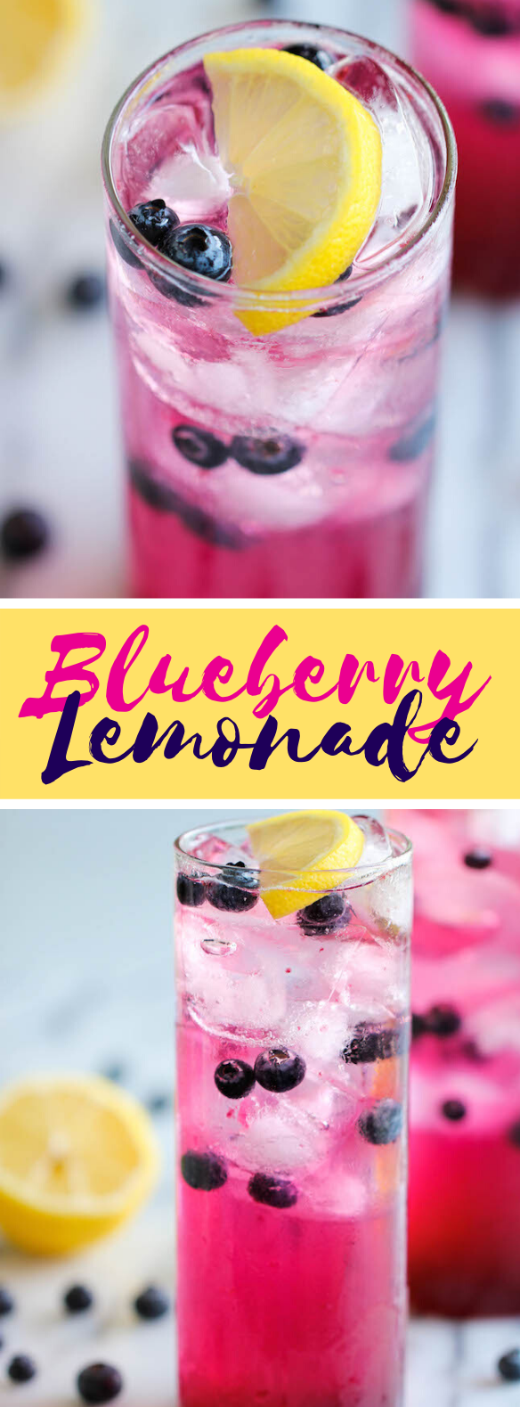 BLUEBERRY LEMONADE #drinks #syrup