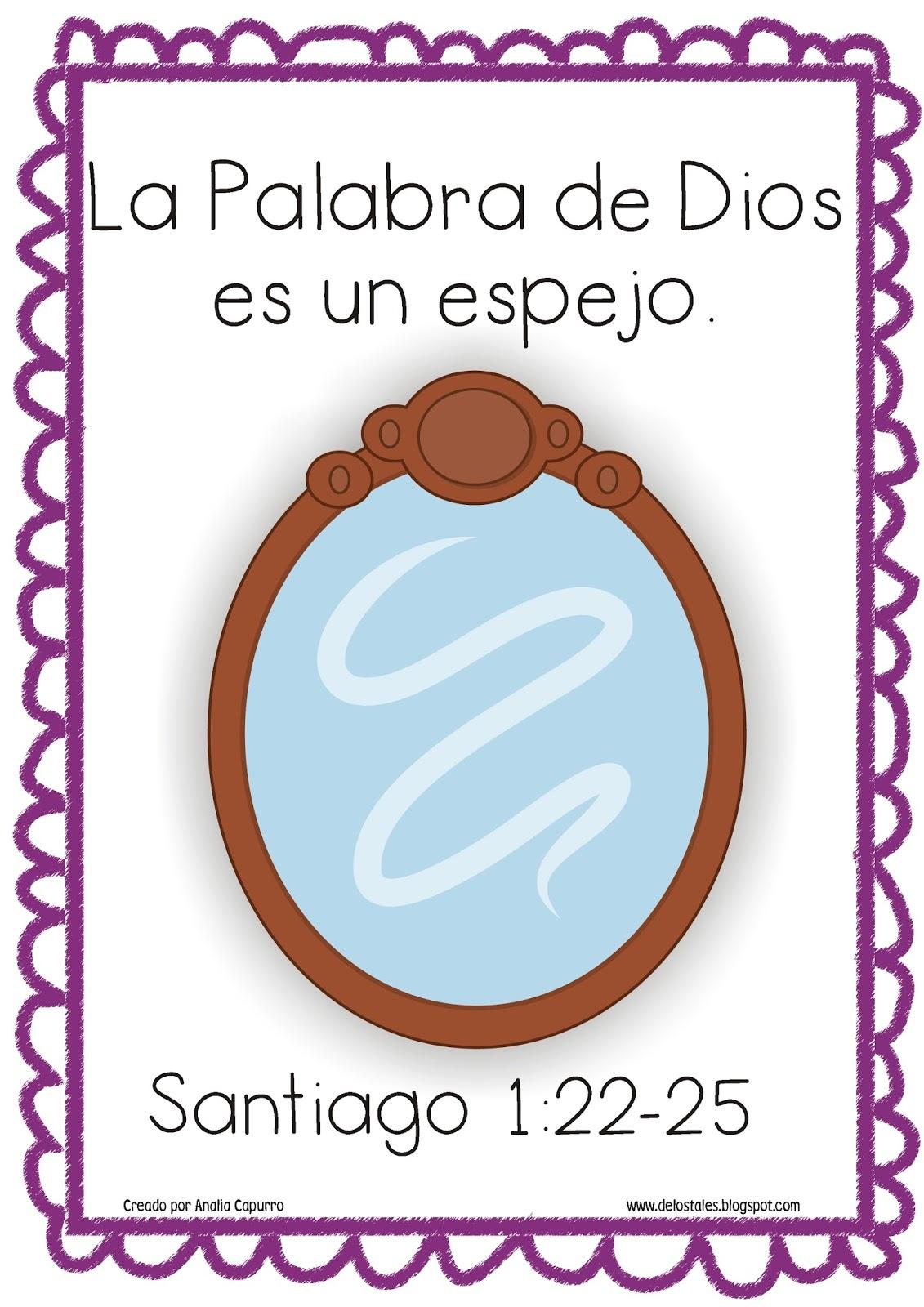 La palabra de dios es de los tales - De que color es un espejo ...