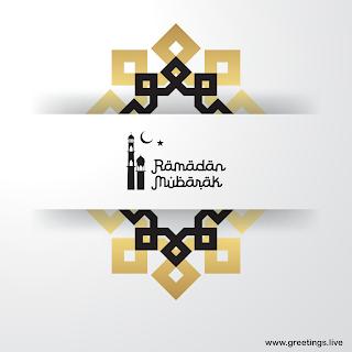Ramadan Mubarak Greetings Image
