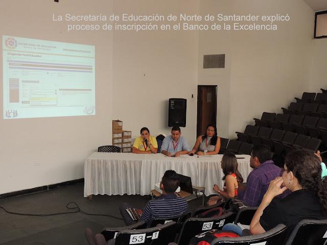 Secretaría de Educación de Norte de Santander: Conozca el proceso de inscripción en el Banco de la Excelencia #RSY #OngCF