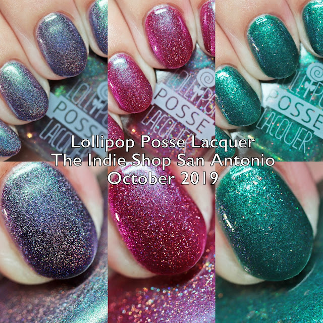 Lollipop Posse Lacquer The Indie Shop San Antonio Limited Editions Fall 2019