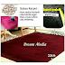karpet rasfur bulu halus 200 x 150 x tebal 3.5 cm anti slip anti rontok