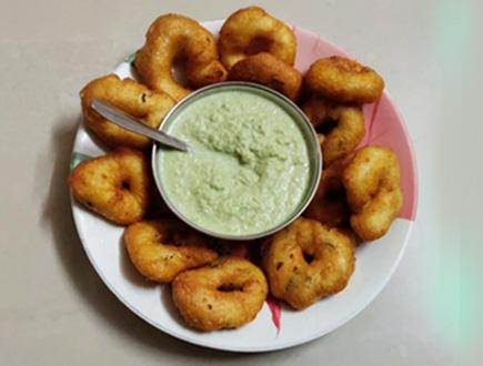 Medu Vada Recipe kitchen snaps