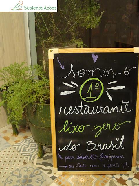 Origem Natural é o primeiro restaurante lixo zero do Brasil