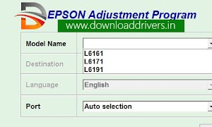 Download Epson L6161 resetter tool | Adjustment program L6161, L6171, L6191