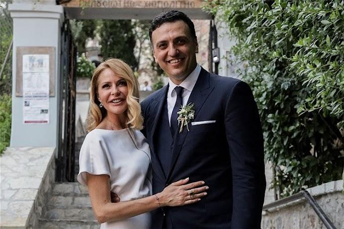 Έγινε πατέρας ο Βασίλης Κικίλιας - Γέννησε αγοράκι η Τζένη Μπαλατσινού