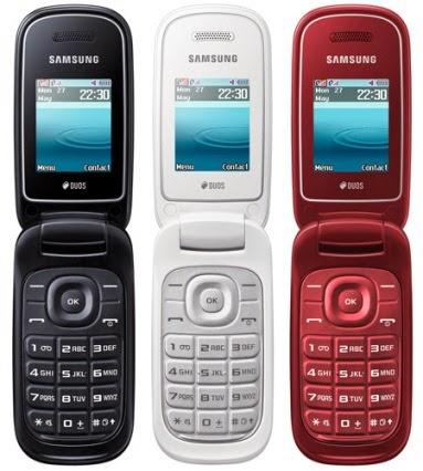 HP murah desain menawan Samsung GT-E1272