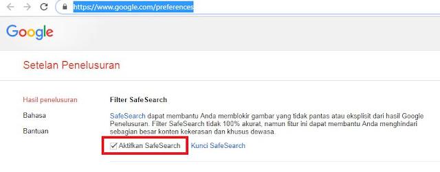 Cara Mematikan Fitur SafeSearch Google WORK!