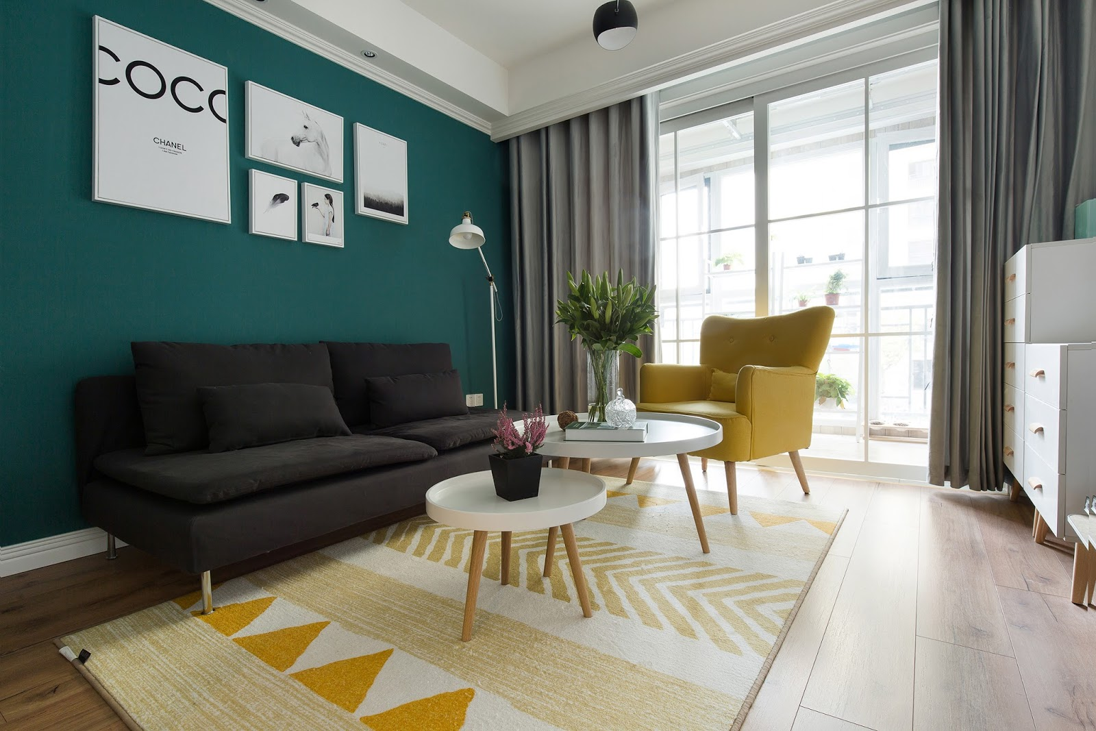 From Unknown Designer, This A A Modern Style That Brave In Playing With  Contrast Colors. The Decorative Wwoden Floor Is Very Strong, Giving The  Whole Design ...