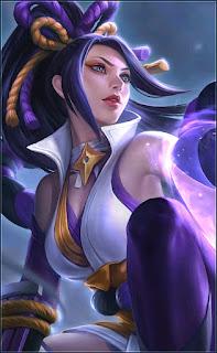 Hanabi Resplendent Iris Heroes Marksman of Skins V2